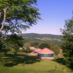 Peaceful Acres The High Point Yurts  June 2014